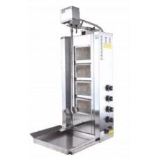 Аппарат для шаурмы газовый D16 LPG Remta (4 горелки) с приводом