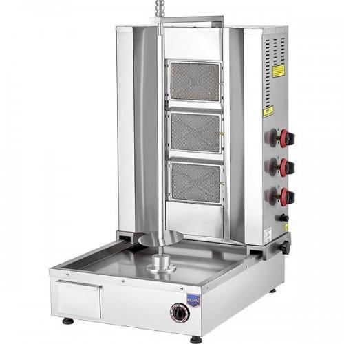 Аппарат для шаурмы газовый с нижним приводом DT04 Remta